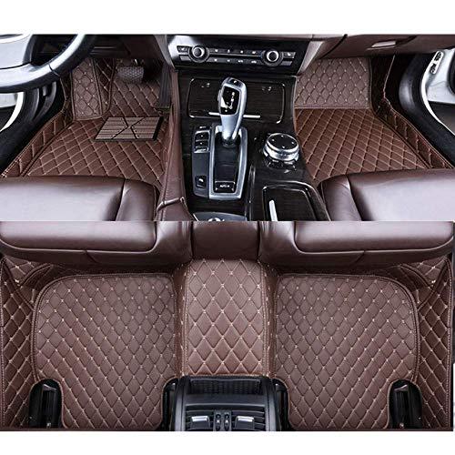 RVTYR For Volvo C30 S40 S60 S80 S60L S80L V40 V60 XC60 XC90 XC60 C70, Piso del Coche esteras de Accesorios de automóvil Car Styling (Color : Coffee)