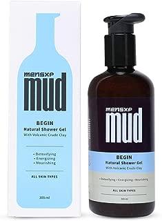 MensXP MUD Natural Shower gel, for all skin types, 300 ml