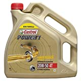Castrol Power 1 formula mejorada 4t 20w50 4l. (antiguo ACT EVO)