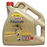 Castrol Power 1 formula migliorata 4t 20w50 4l. (antico ACT EVO)