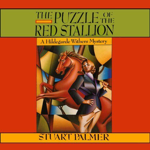 The Puzzle of the Red Stallion audiobook cover art