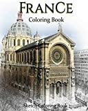 France Coloring Book: Sketch Coloring Book