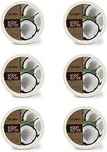DELON Intense Moisturizing Coconut Body Butter 6.9 Ounce (Pack of 6)