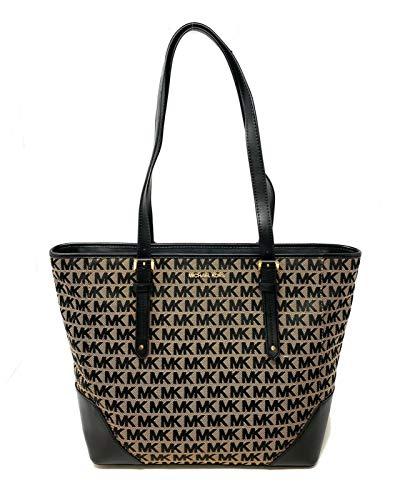 """Imported Michael Kors Lillian Large Top Zip Shoulder Tote Handbag Top zip Closure Interior zip pocket, and 2 slide pockets Dimensions: 12"""" L (bottom ) 16.5 """" L (top) x 11.5 W x 6"""" D Handle Drop 11"""""""