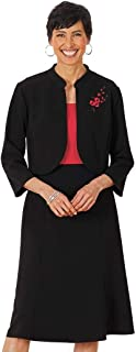 Perceptions New York Embroidered Jacket Dress