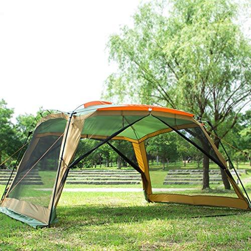 Pavillon Camping im Freien 6-9 Personen Grill Markise