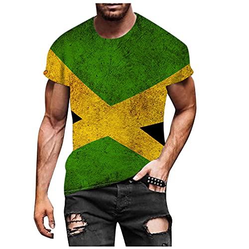 Nuevo 2021 Camiseta Hombre Verano Manga corta 3D universo Impresión Moda Casual T-shirt Blusas camisas Camiseta originales Cuello redondo hombre suave básica Tops camiseta deportiva