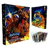 LSST - Album di carte da collezione, compatibile con lo schienale di carte Pokemon, i giochi di carte da...