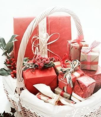 Beauty Hamper all individually Gift Wrapped in a luxury wicker basket - perfect gift