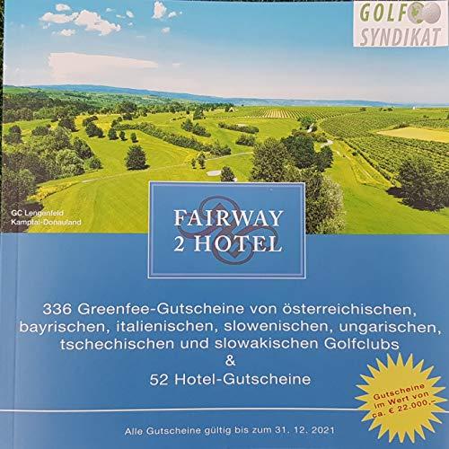 Fairway2Hotel 2021 książka z bonami firmy GolfSyndikat