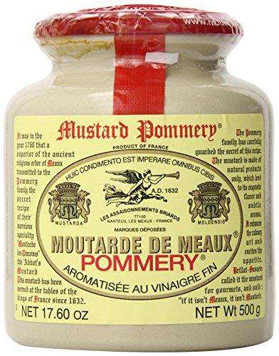 Les Assaisonnements Briards, Mostaza de Dijon (Pommery de Meaux) - 500 gr.
