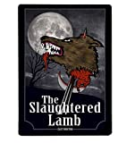 Artylicious The Slaughtered Lamb, Werewolf in London Movie A4 Metal Sign Plaque Wall Art