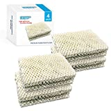 HQRP Wick Filter compatible with Kenmore 14911 32-14911 Emerson Essick Air HDC12 HDC-12 Replacement, 15414, 15420, 14452, 14453, 14454, 14415, 14417, 15517, 03215420000, 4-Pack