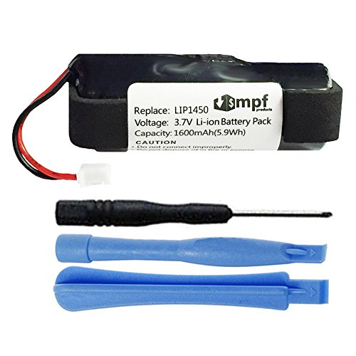 MPF Products 1600mAh Extended LIS1441, LIP1450 Battery Replacement Compatible with Sony PS3 Playstation 3 Move Motion Controller CECH-ZCM1E, CECH-ZCM1U