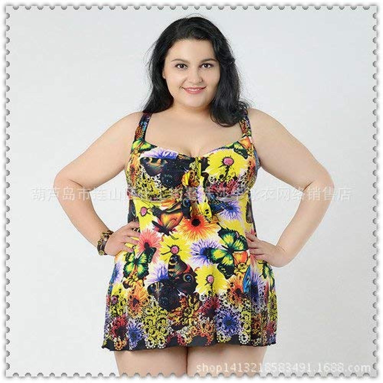 Oudan Split-Rock-Stil Badeanzug Badeanzug erhöht 12-Farben, Gelb, 8XL (Farbe   Wie Gezeigt, Größe   Einheitsgröße) B07MQJPW21  Billig