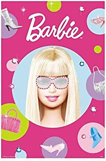 Barbie All Dolled Up Party Game, 37-1/2 x 24-1/2 Inches