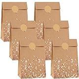 Cooraby 30 Pieces Kraft Paper Bronzing Rose Gold...