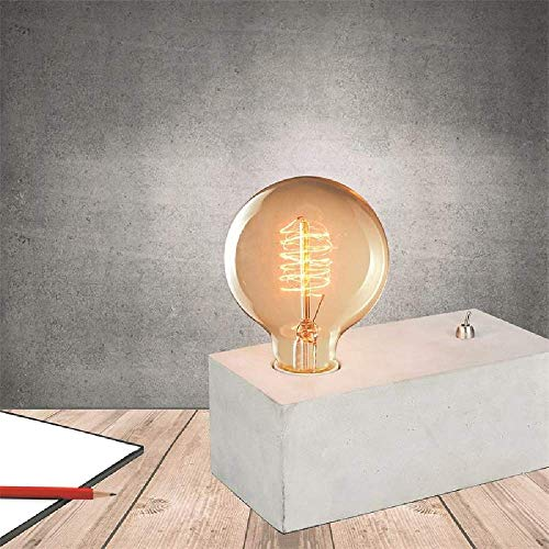 Cmp, Lampe a poser rectangle béton