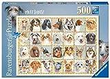 Ravensburger Puzzle 500 Piezas, Ilustración Retratos de Perros, Puzzle para Adultos, Animal Puzzle, Rompecabezas Ravensburger de Alta Calidad