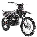 X-PRO 250cc Dirt Bike Pit Bike Gas Dirt Bikes Adult Dirt Pitbike 250cc Gas Dirt Pit Bike,Black