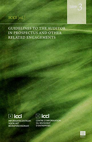 Guidelines to the Auditor in Prospectus And Other Related Related Engagements: ICCI