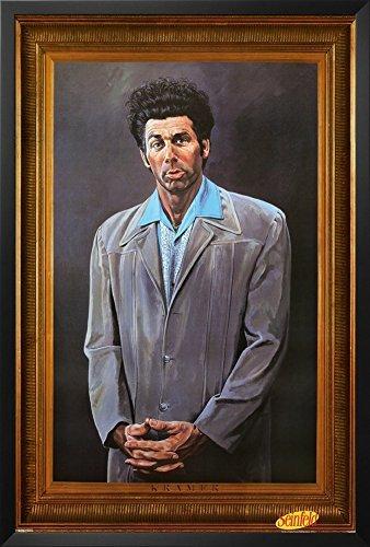 Seinfeld - Kramer Framed Poster 26 x 38in by Buyartforless