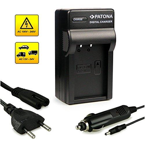 PATONA 3en1 Cargador Batería LP-E17 compatible Canon