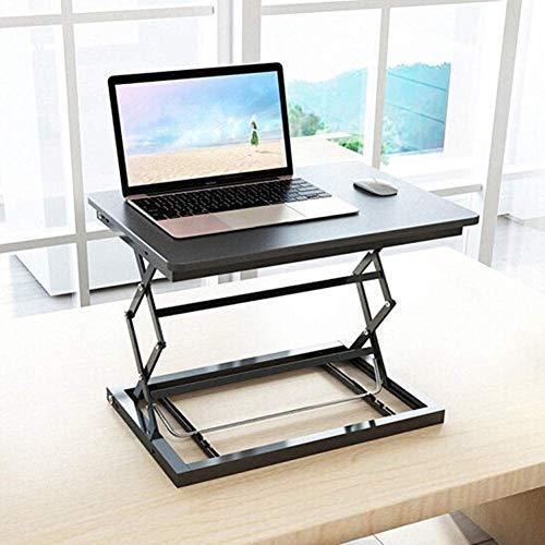 Suge Computadora de Escritorio Regulable en Altura Mesa de Ordenador de Mesa Escritorio del Ordenador portátil móvil Mesa Riser Rollo estación de Trabajo for pie o Sentado