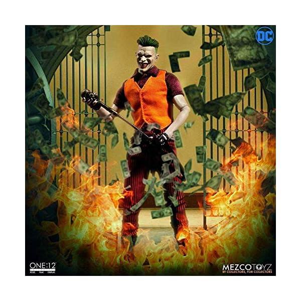 Mezco One:12 Collective The Joker Clown Prince of Crime Standard 2