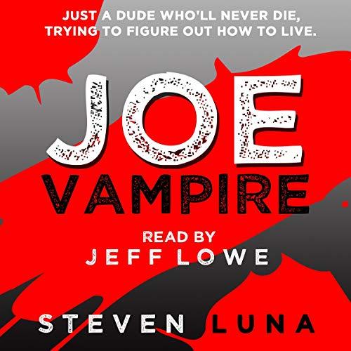 Joe Vampire audiobook cover art