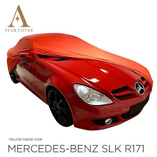 AUTOABDECKUNG ROT Mercedes-Benz SLK-Class (R171) SCHUTZHÜLLE ABDECKPLANE
