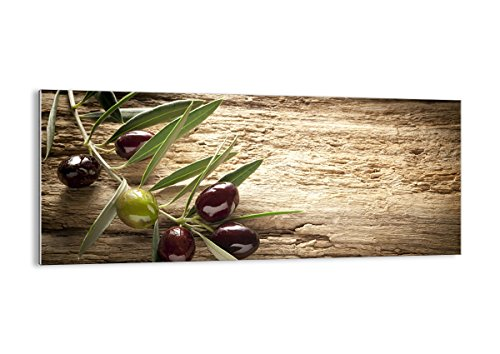 Bild auf Glas - Glasbilder - Einteilig - Breite: 120cm, Höhe: 50cm - Bildnummer 2420 - zum Aufhängen bereit - Bilder - Kunstdruck - GAB120x50-2420