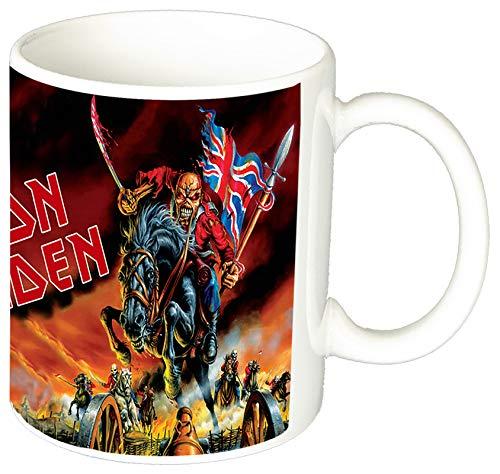 Iron Maiden Maiden England Taza Ceramica 11 oz ≈ 325 ml
