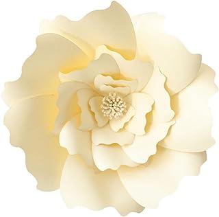 KOBWA Flores de Papel Grandes, DIY artesanías Papel Flores