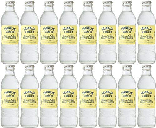 Franklin & Sons Natural Indian Tonic Water 16 x 200ml