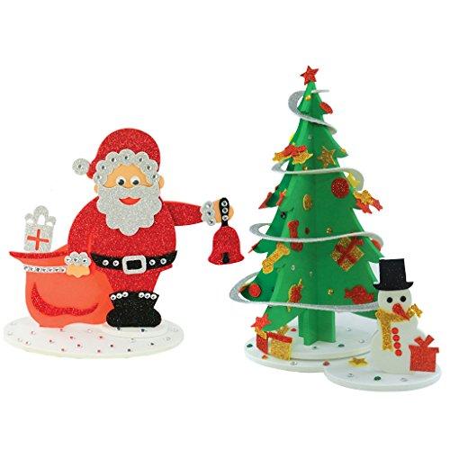Christmas Combo - Sparkling Christmas Tree and Santa Surprize, Christmas DIY, Christmas Decorations, Christmas Gifts