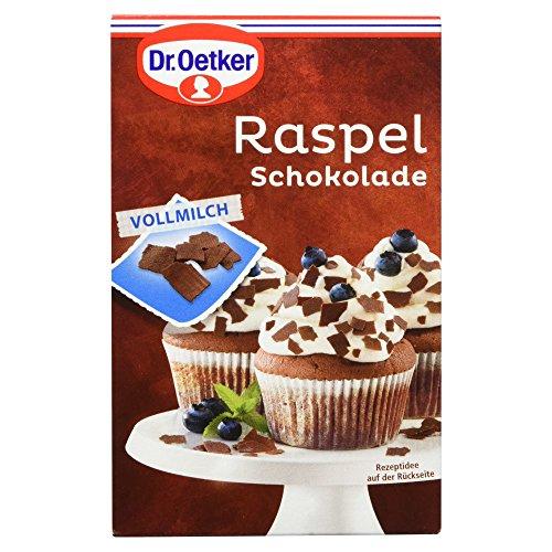 Dr. Oetker Raspelschokolade Vollmilch, 100g