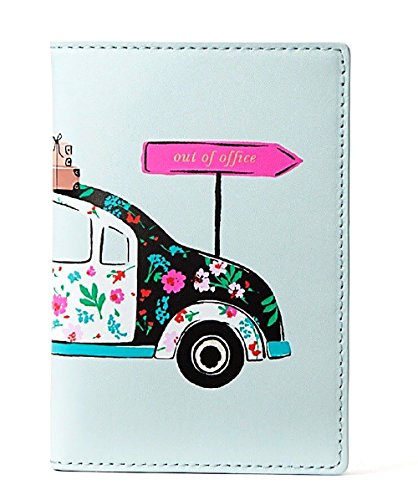 Kate Spade Imogene Leather Passport Holder Case Out Of Office Multi
