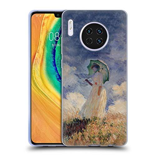 Officiële Masters Collection Vrouw Met Parasol Schilderijen 2 Hard Back Case Compatibel voor Huawei Mate 30