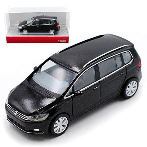 mächtig der welt Herpa Volkswagen Touran II Tiefschwarz 2015 H0 1/87