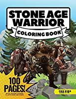 Stone Age Warriors Coloring Book for Boys, 80 Pages + Mazes: Coloring book for Boys