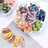 Dried Flowers Nail Art Supplies - 3D Nail Art for Acrylic Nails Dry Flowers for Resin Nails Decorations Accessories Mini Flowers Small Tiny Natural Real Flower Decor Manicure Design Kit - 45 PCS