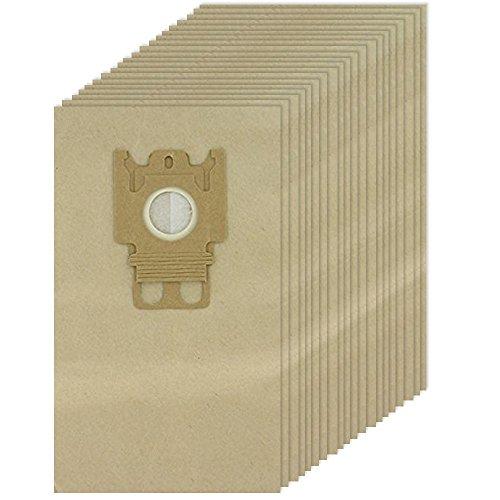 Spares2go GN type Sacs en papier pour Miele Complete C2 C3 Cat & Dog PowerLine Silence EcoLine Aspirateur (20 sacs)