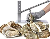 Oyster Shucker Set - King Size - Clam Opener Tool with Oyster Knife For Hotel & Family Buffet