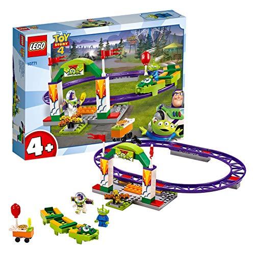 レゴ(LEGO) トイストーリー4 カーニバルのわくわくコースター 10771 ディズニー ブロック おもちゃ 女の子 ...