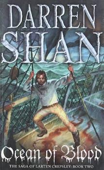 Paperback Ocean Of Blood: The Saga Of Larten Crepsley Book 2 Book