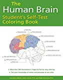 Human Brain Student's Self-Test Coloring Book