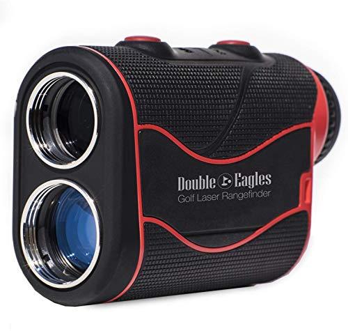 Kozyvacu Double Eagles DEPRO-800 Golf Rangefinder - Laser Range Finder with Pinsensor - Laser Binoculars - Free Battery - Water Proof