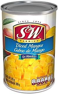 S&W Empaque con 12 Piezas de Cubos de Mango, 425 g,