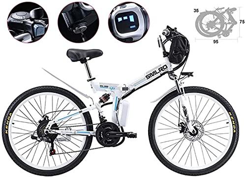 Bicicleta electrica 26 pulgadas Neumático Bicicleta eléctrica plegable plegado de lodo bicicleta bicicleta 21 velocidad 48V 500W Montaña Bicicletas eléctricas 3 MODO MODO POTENCIA SPOOTER ALTA